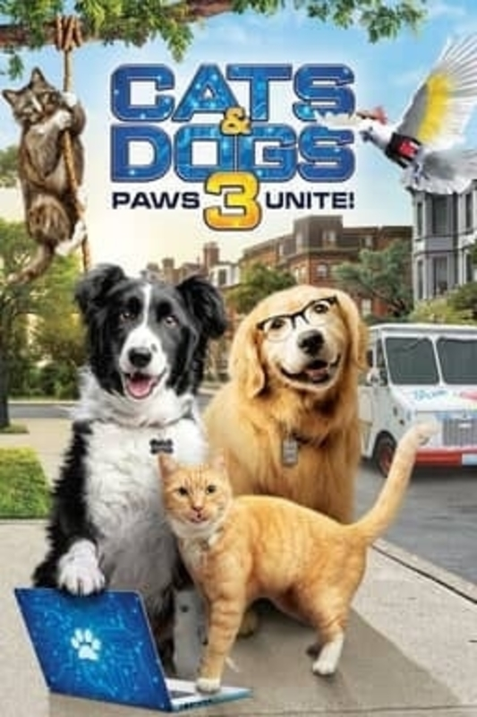 Watch Movie cats-amp-dogs-3-paws-unite