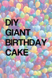 Watch Movie diy-giant-birthday-cake